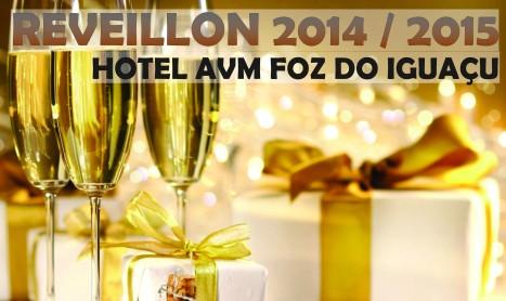 Réveillon no Hotel AVM em Foz do Iguaçu